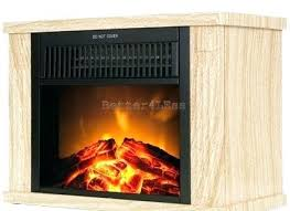 tabletop electric fireplace freestanding wood color mini retro vintage free standing firepla heater portable free standing retro electric fireplace