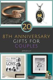 20 best 8th wedding anniversary gifts