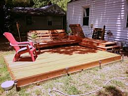 outdoor deck furniture ideas pallet home. deck and relaxation area created out of pallets a little plywood cheap project with outdoor furniture ideas pallet home
