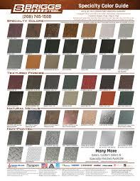 Colors Briggs Steel
