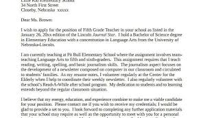 Experienced Teacher Cover Letters Cover Letters For Experienced Teachers 12 Teacher Cover Letter