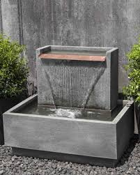 Small Picture Falling Water II Garden Fountain Cast stone Fountain and Concrete