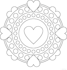 quoet heart mandala coloring pages x4016 simple heart mandala coloring pages heart mandalas heart mandala coloring