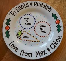 You'll receive email and feed alerts when new items arrive. Christmas Eve Plate From Lovingly Crafted Christmas Eve Plate Its Christmas Eve Christmas Fair Ideas