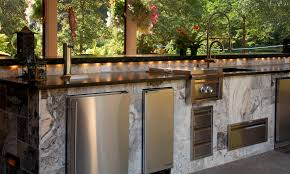 Outdoor Kitchen Countertop Extraordinary Kitchen Island Countertop Concept With Natural