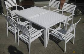white iron garden furniture. Modern Patio And Furniture Medium Size White Metal Set Garden Table Chairs Clean Iron