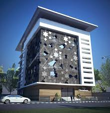 office exterior design. 3D Office Exterior Rendering Design Service By Axiscorner O