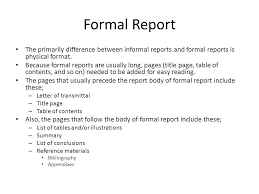 Format Of A Formal Report Magdalene Project Org
