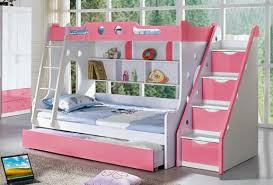 Creative Of Bunk Beds For Girls Room Bedroom Appealing Little Girl