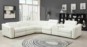 Small Picture Magnificent White Leather Recliner Sofa Set Popular Recliner