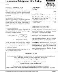 Hussmann Refrigerant Line Sizing Pdf Free Download