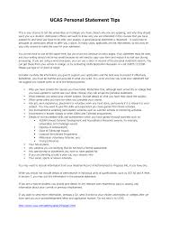 Personal Statement Examples For University Best Of Resume Personal Statement Example Cv Examples 10