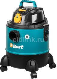 Купить Строительный <b>пылесос BORT BSS-1220-Pro</b> синий в ...
