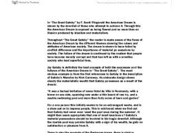 new essay templates examples and articles jenthemusicmaven com american dream essays the great gatsby pdfeports867web