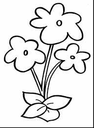Simple Coloring Pages Fresh Top 10 Easy Rose Flower Free Kids