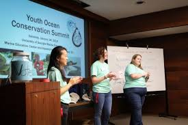 The future generation of conservationists: Youth Ocean Conservation Summit  2019 - UGA Marine Extension and Georgia Sea Grant