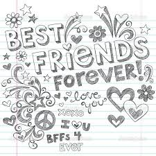Small Picture Bff coloring pages to download and print for free
