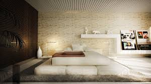 White Exposed Brick Wall The Most Creative Ideas In Decorating The Walls Of A Bedroom With