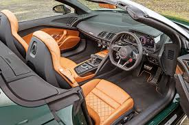audi r8 convertible interior. Contemporary Interior The Same Applies To Any Of The Audiu0027s Turbocharged Rivals Except Perhaps  Ferrari 488 Spider And Audi R8 Convertible Interior U