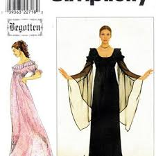 Medieval Dress Patterns Awesome 48s GOTHIC MEDIEVAL DRESS Pattern Short From Design Rewind At