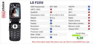 LG F2250 :: GSMchoice.com