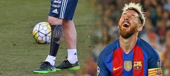 Co Ho To Napadlo Messi Ukázal Drastické Tetování Nohu Má Celou