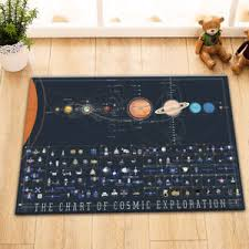 Chart Of Cosmic Exploration Details About The Chart Of Cosmic Exploration Floor Carpet Non Skid Door Bath Mat Decor Rugs