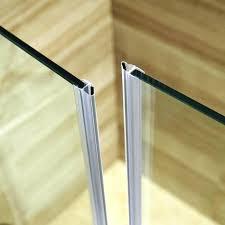 showers glass shower door seal doors beautiful strip