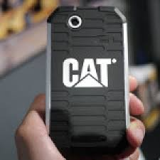 Cat B15 rugged Android smartphone hands ...