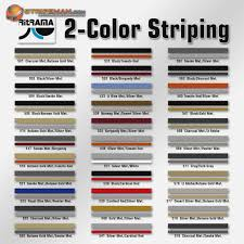 Scotchcal Striping Tape Chart 39 Explicit 3m Striping Tape Chart