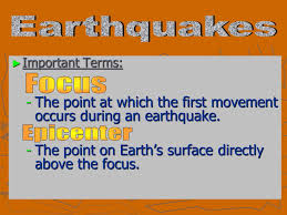 A sudden violent shaking of the ground, typically causing great destruction. Earth Science With Mr Thomas Definition A Shaking Of Earth S Crust Caused By A Release Of Energy The Energy Released Is From Stress That Builds Ppt Download