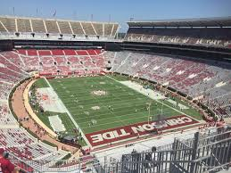 Alabama Football Stadium Seat Chart Bryant Denny Stadium Section Ss11 Rateyourseats Com