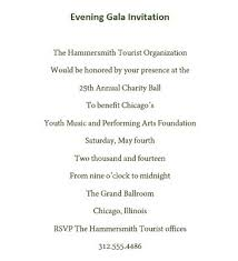 gala invitation wording evening gala invitations wording free geographics word templates