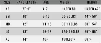 Goalie Pad Sizing Chart By Height Punctilious Stx Arm Pad Size Chart 2019
