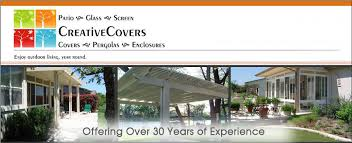 creative covers patio covers fort