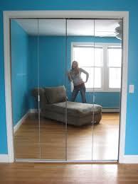 stunning perfect frameless mirror bifold closet doors mirrored bifold closet doors without bottom track home design