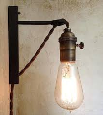 retro wall sconce fantastic retro wall sconces best ideas about plug in wall inside plug in wall lamp ideas