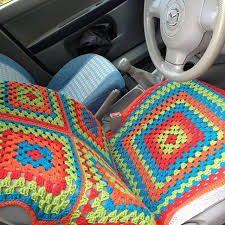 quilted golf cart seat cover pattern ravelry yackityyaxs car seat cover granny squares of quilted