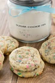 homemade sugar cookie mix is the perfect diy gift and it makes soft and yummy