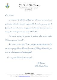 Lettera Ai Bambini Per Natale Ed Auguri Del Sindaco Istituto
