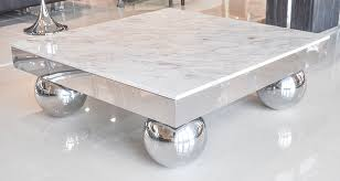 metal stainless steel modern marble coffee table simple wallpaper great nice shadow reflection the interiorgallery