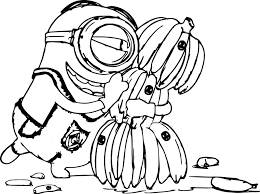 Interesting Minions Coloring Pages To Print Minion Dr Odd Of Free