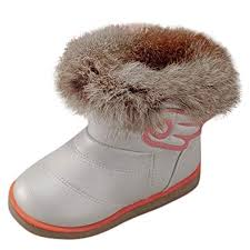 Plot 2019 Kids Snow Boots Warm Shoes Fashion Winter Baby
