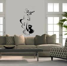 Wall Art Designs, Art For Walls Wall Vinyl Sticker Decals Art Mural Violin  And Guitar