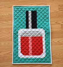 Mini Quilt Patterns Impressive 48 Free Mini Quilt Patterns The Sewing Loft