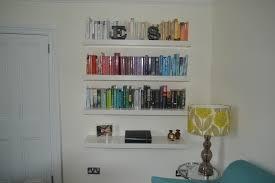 shelves image of ikea reble floating wall shelf ikea image with floating wall photo on ikea wall