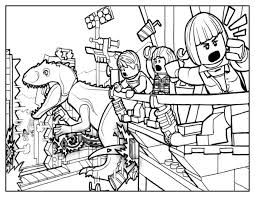 Lego Jurassic World Coloring Pages Lego Coloring Pages Jurassic