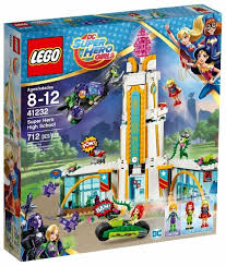 <b>Конструктор LEGO</b> DC <b>Super Hero</b> Girls 41232 Школа Супергероев