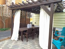cabana curtains patio pergola curtains curtain hardware home depot