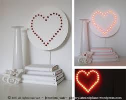 Lampadario Bagno Fai Da Te : Fai da te una lampada per san valentino